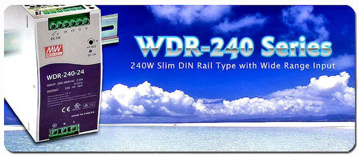 WDR 240W Series Banner